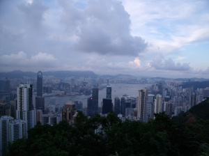 Daytime view from The Peak