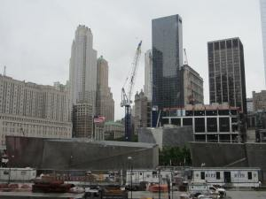 Ground zero - World Trade Centre site after 911 attacks