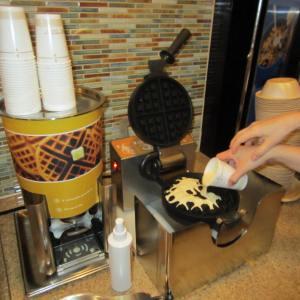 The DIY Waffle-making machine