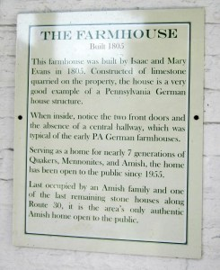 Details of the Farmhouse