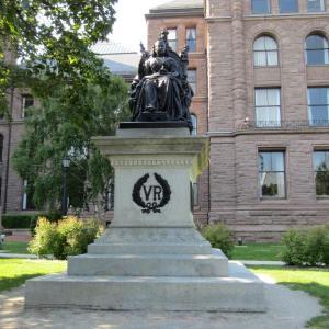 Monument of Queen Victoria