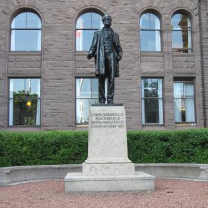 John Sandfield Macdonald - the first Prime Minister of Ontario