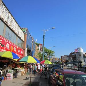 A busy Chinatown
