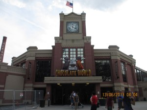 Welcome to Hershey's Chocolate World!