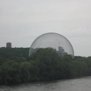 The Biosphère - a museum dedicated to the environment