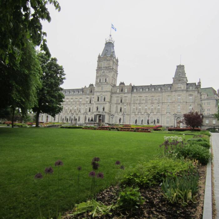 Quebec Provincial Parliament Building