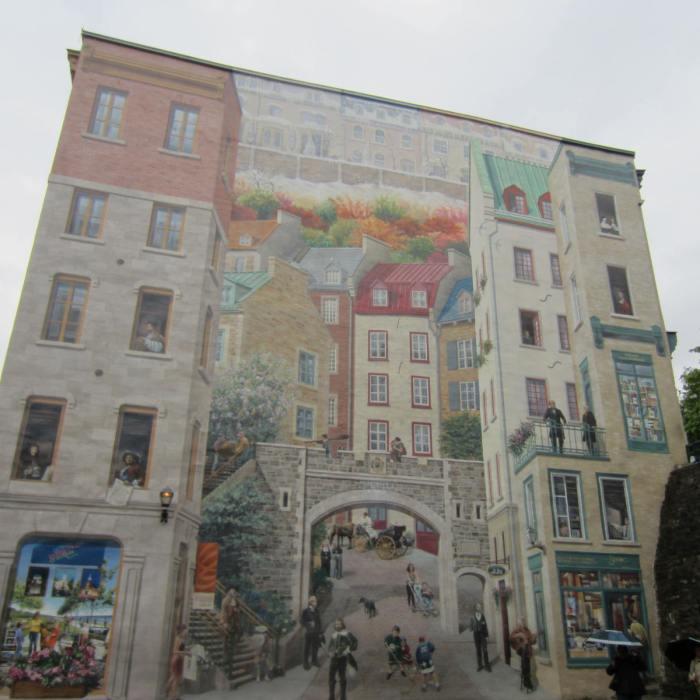 Mural of Quebecers (Fresque des Québécois)