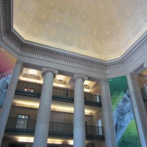 The interior of Building 7 (77 Massachusetts Ave) - the entrance to the campus