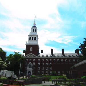 Last look at the historic centre of Cambridge - Harvard Square