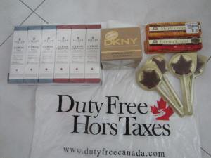 My good buys at the duty free shop :)