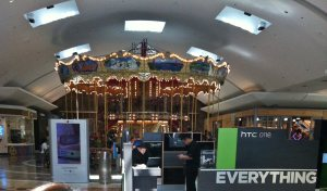 Nice carousel inside the mall on level 2