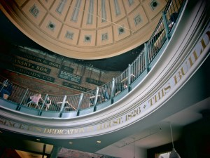 I like the interiors of Quincy Market :)
