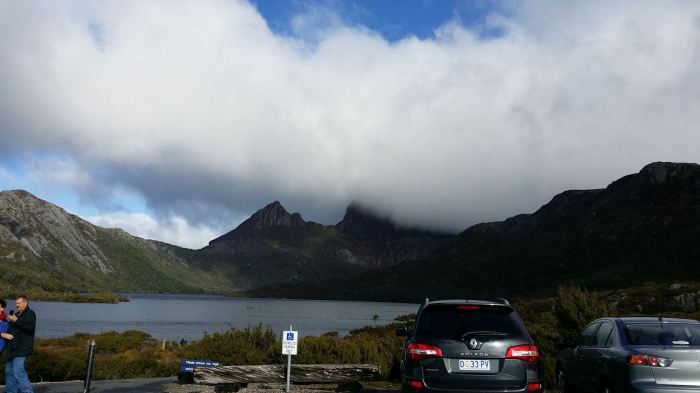 Lovely view of Cradle Mountain