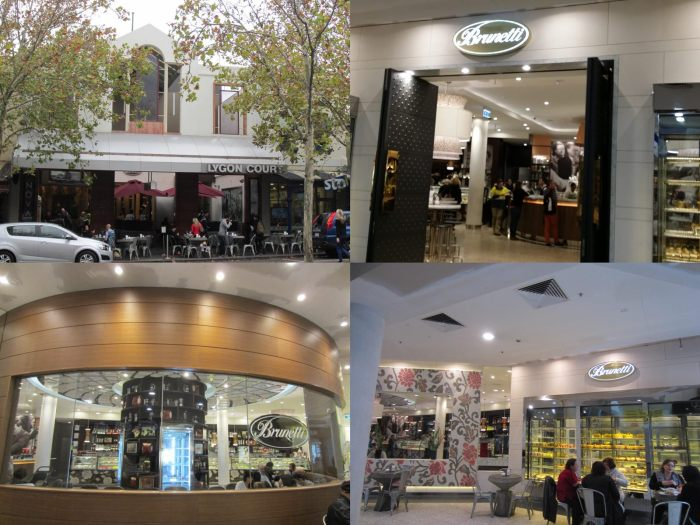 Brunetti Carlton @Lygon Court