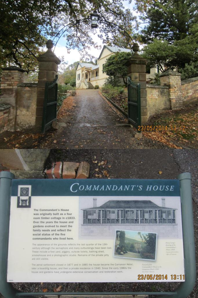 The Commandant's House reflects the social status of the 5 commandants who lived here
