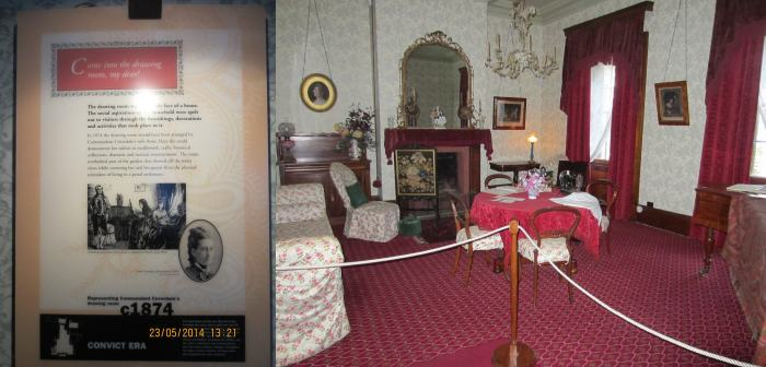 The Drawing Room - a symbolic face of the Commandant's House