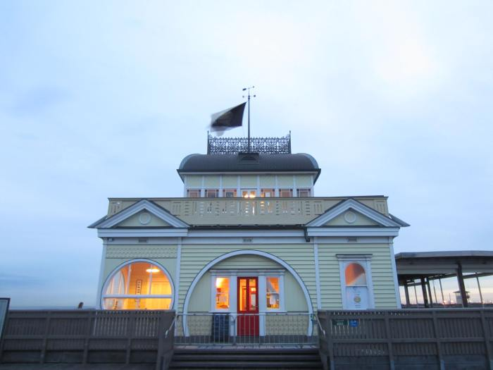 The St Kilda Pier Kiosk