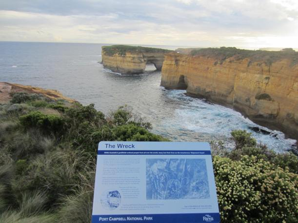 The treacherous 'Shipwreck Coast'
