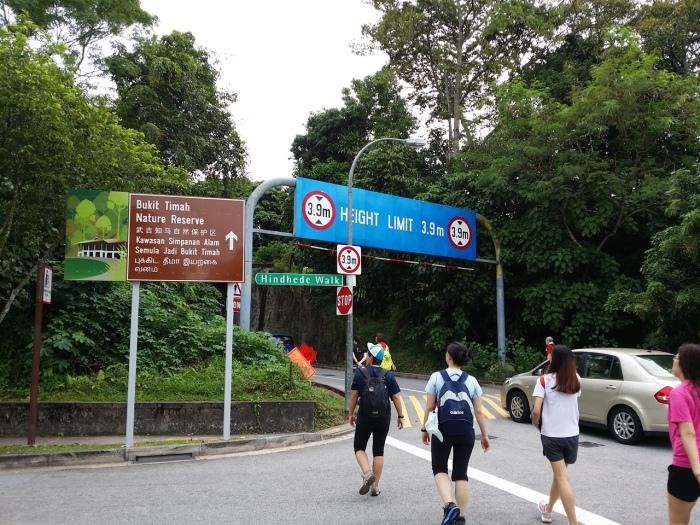 The entrance to BTNR