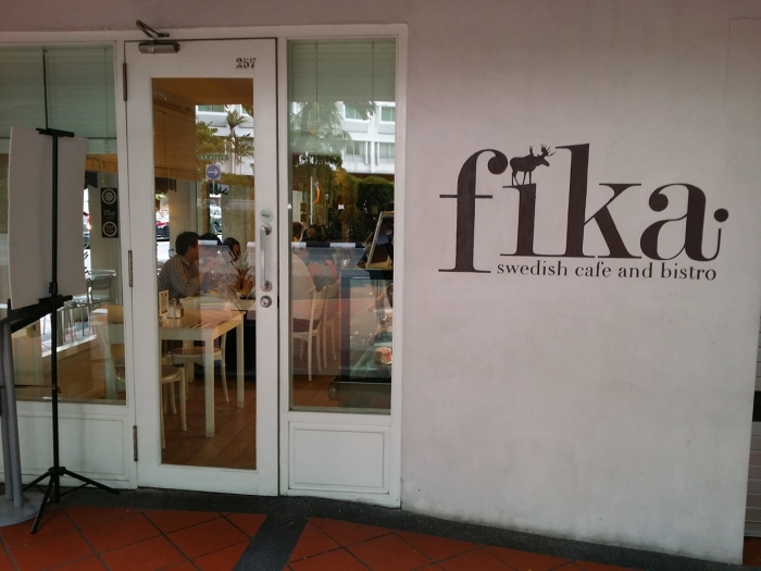 Entrance of Fika Cafe, looks welcoming :)