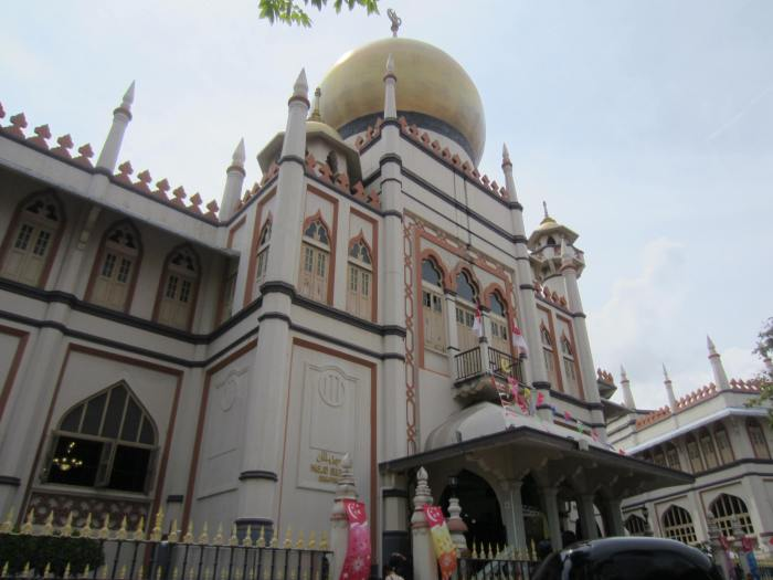 The oldest mosque in Singapore - the Sultan Mosque