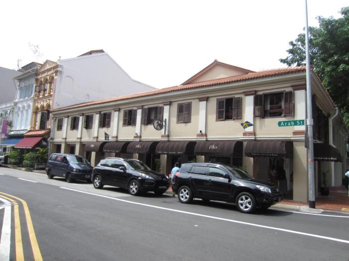 Arab Street, at the end near Beach Road