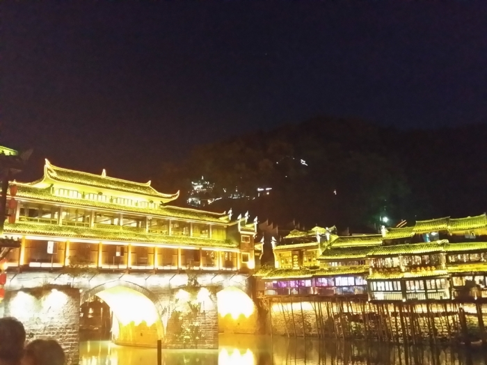 The iconic landmark in the town - Hong Bridge (虹桥)