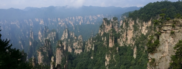 Spectacular view of the Stone Peak Forest (石峰林)