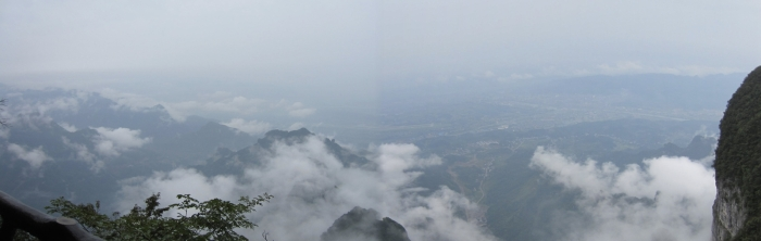 Breathtaking view using photo-stitch!