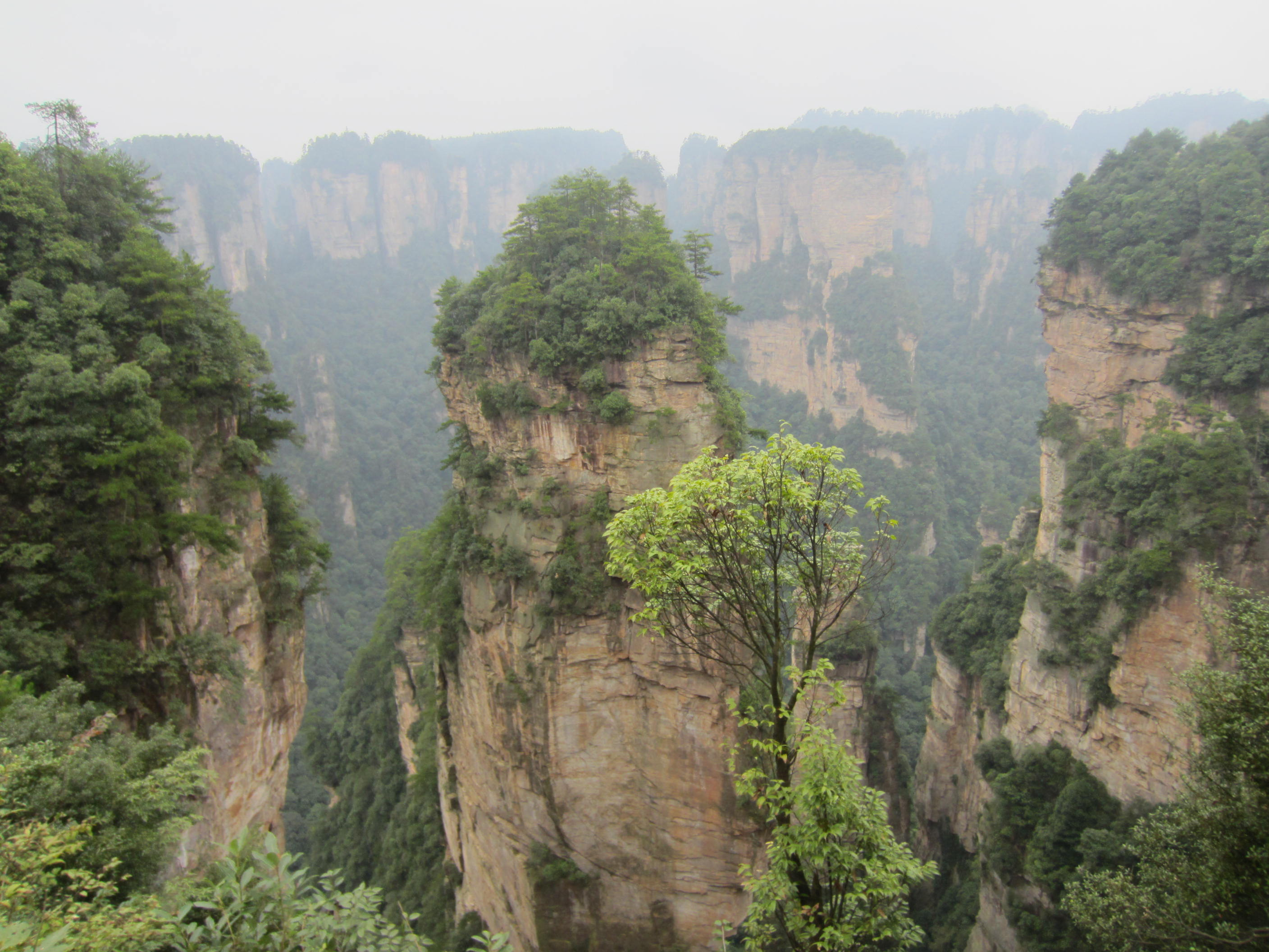 Accidental Hiking Holiday In Zhangjiajie 张家界 September
