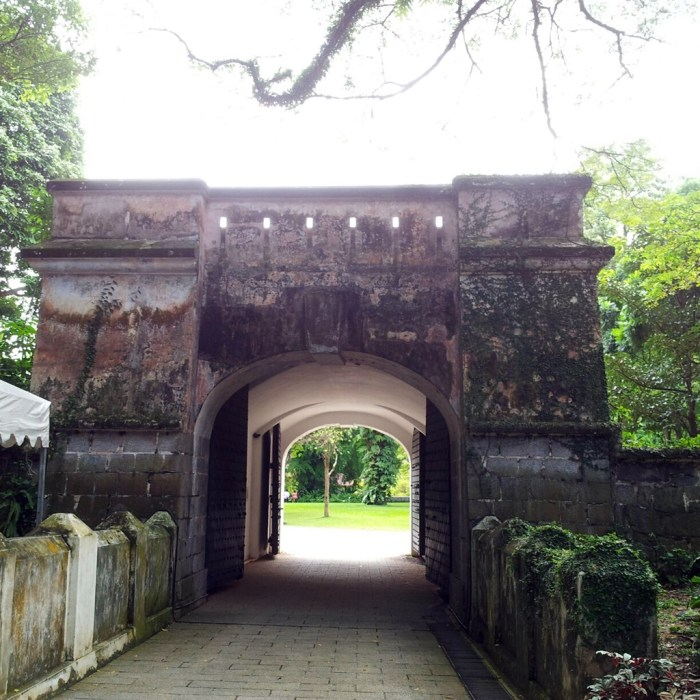 The Fort Gate