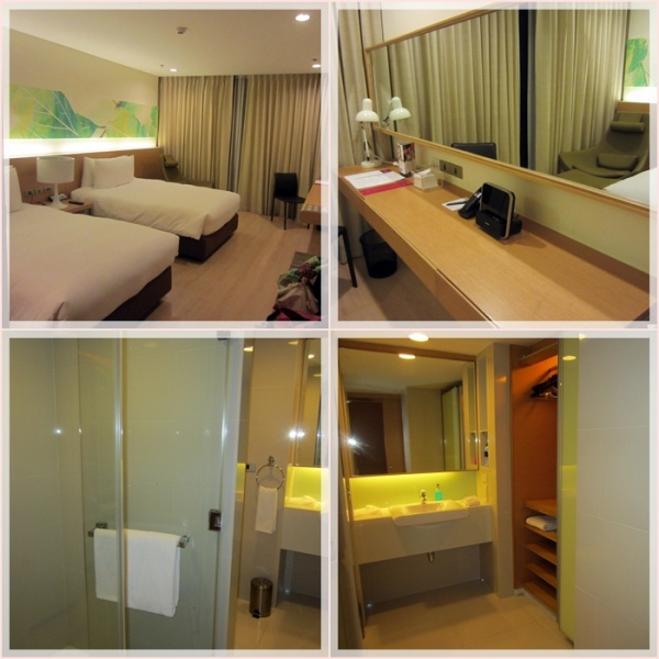 Our deluxe twin room