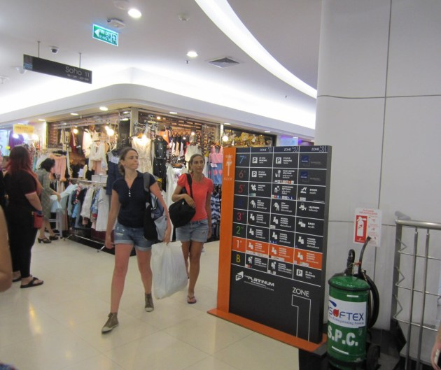 A snapshot of how the mall looks like on level 1