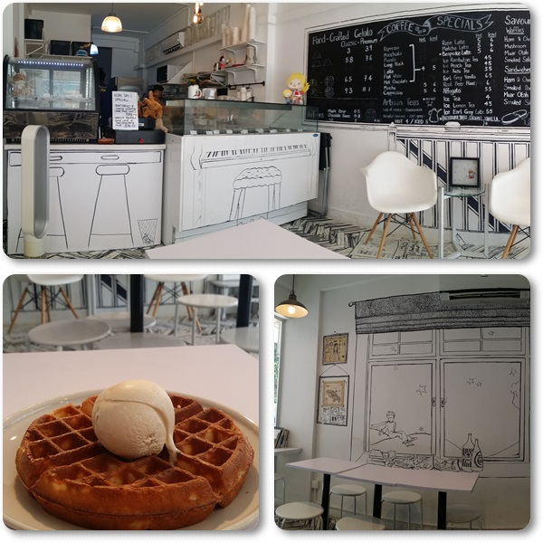 Enter the world of the Little Prince & enjoy its signature waffles :)