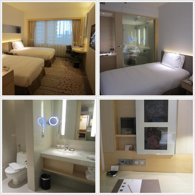 Different views of the comfortable & spacious room