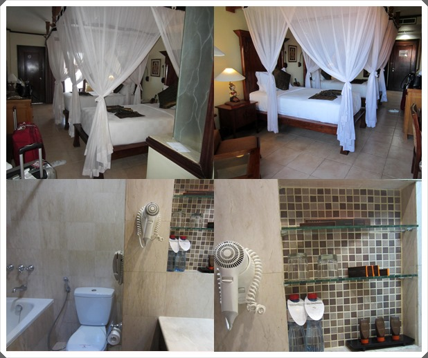 Different views of our Deluxe Twin Room