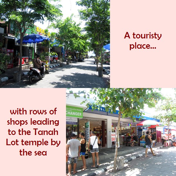 Tanah Lot shops