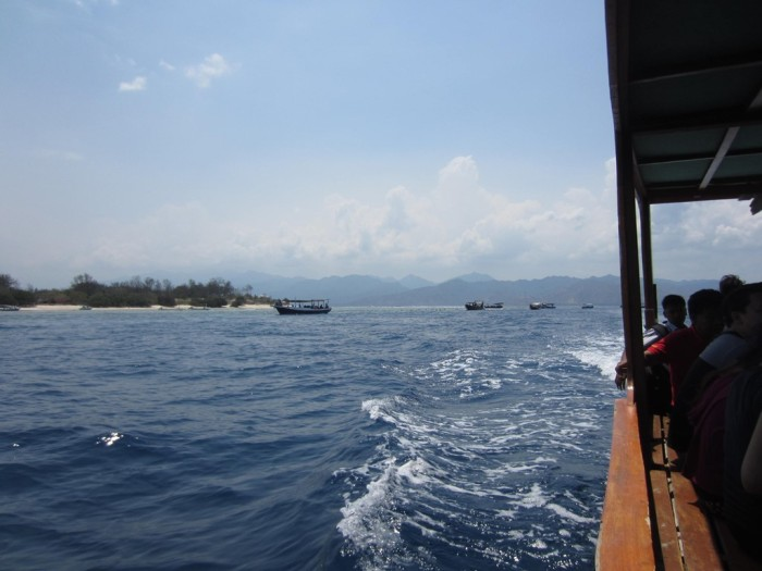 A glimpse of the side of glass bottom boat :)