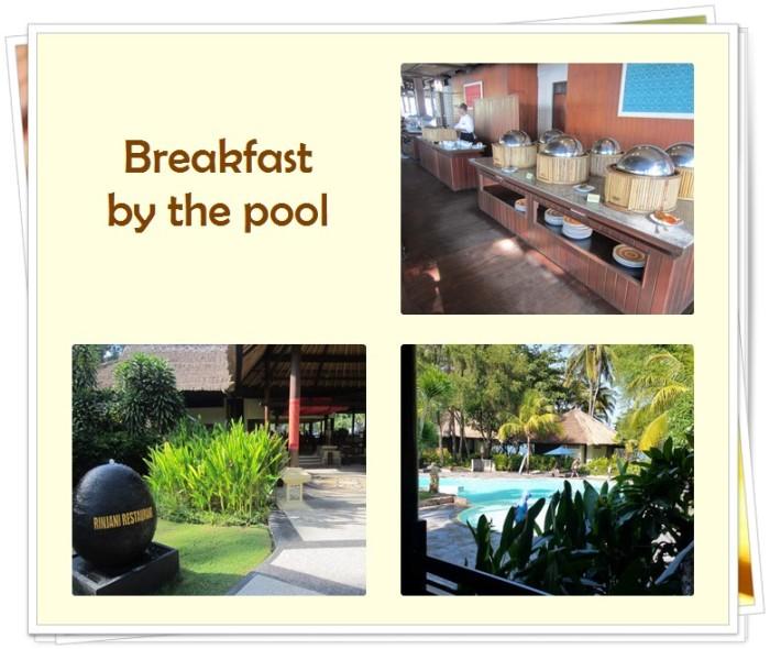 Kila Senggigi Beach Hotel breakfast