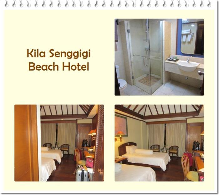 Kila Senggigi Beach Hotel room
