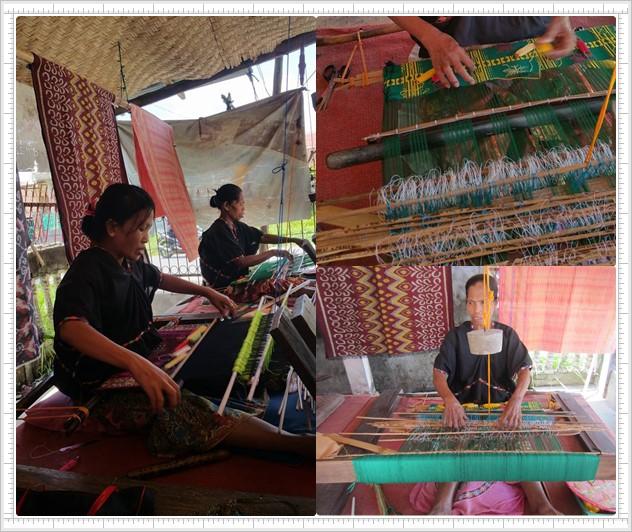 Lombok batik making