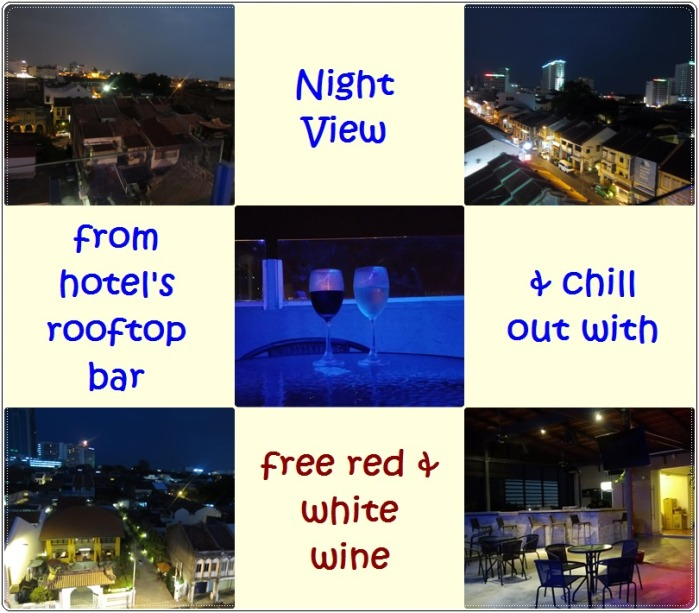 Chulia Mansion rooftop bar