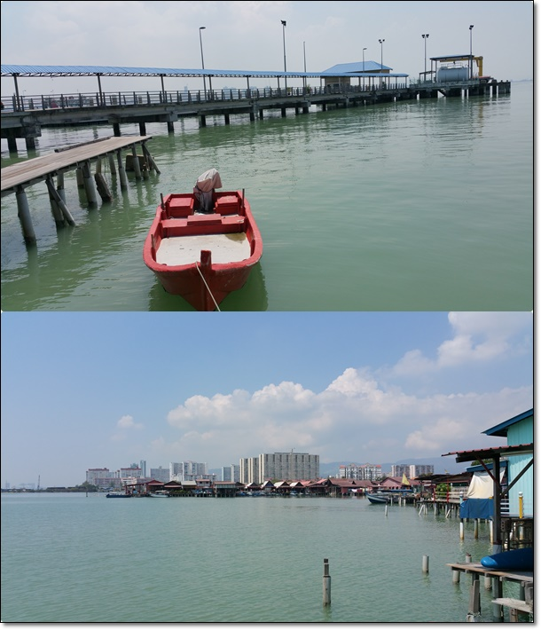 The smaller clan jetty next to Chew Jetty (but I forgot its name :P)