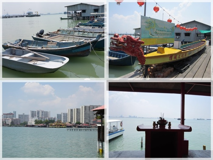 Different views at the Chew Jetty