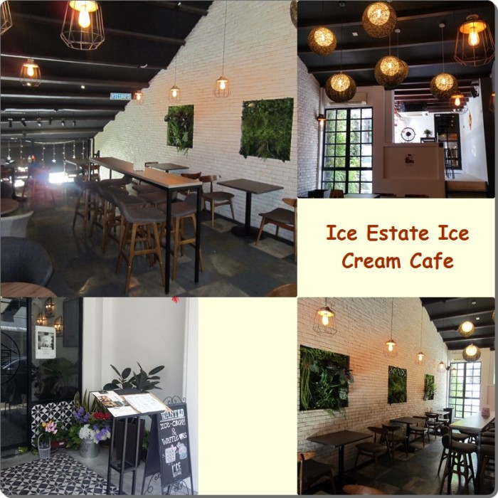 Ice Estate Cafe interiors