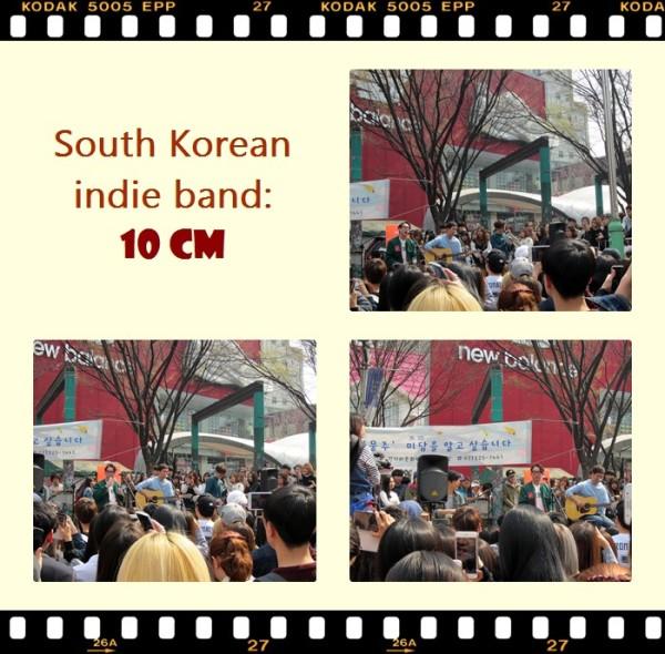 10cm's Hongdae performance