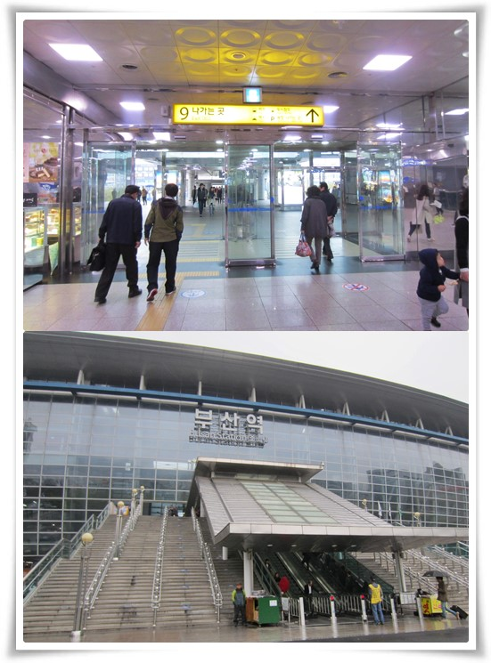 Get to the hotel from Busan Station exit 9