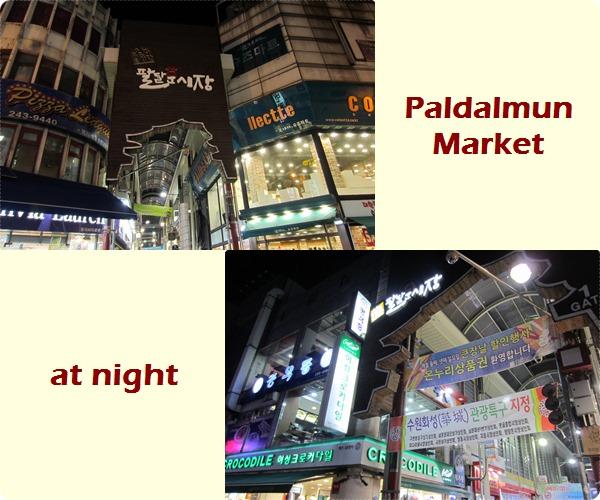Suwon Paldalmun Market
