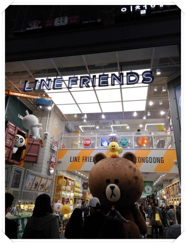 Not forgetting the huge Line Friends Store that sees long queues waiting to enter most of the time