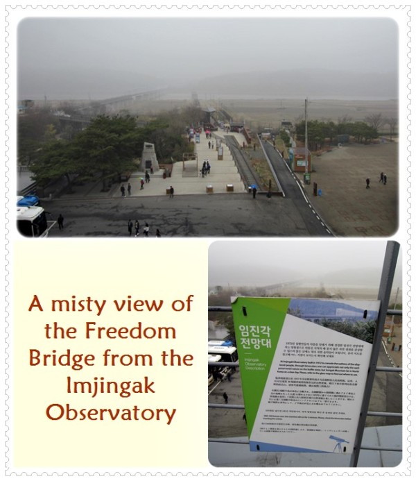 Look hard & you may see the Freedom Bridge in the background of the top pic